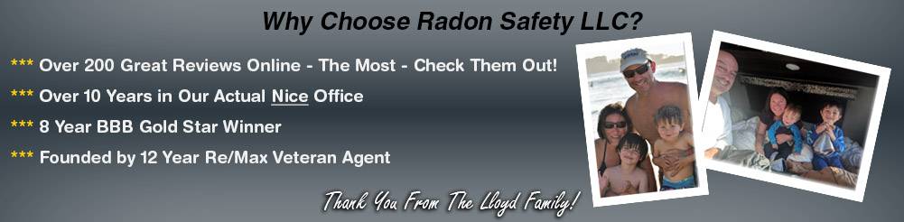 Radon Safety LLC – Why Choose Us