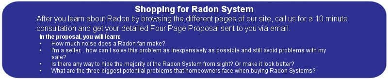 Shopping for Radon System